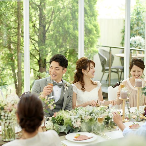 【挙式&会食】~親族と少人数で!安心のレストラン貸切プラン~